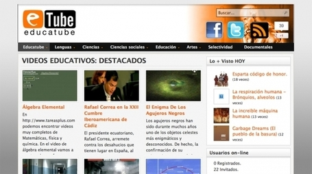 Educatube, el canal de los vídeos educativos | Activismo en la RED | Scoop.it