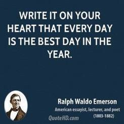 Ralph Waldo Emerson New Year's Quotes | Life Quotes | Scoop.it