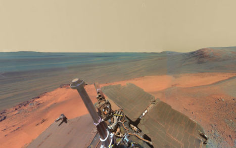 Sensational Interactive Panorama Feels Like You Landed on Mars | photo | Scoop.it