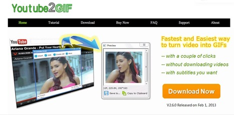 Create Animated GIF from YouTube | Le Top des Applications Web et Logiciels Gratuits | Scoop.it
