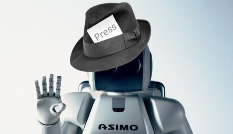 End of the road for journalists? Tencent's Robot reporter 'Dreamwriter' churns out perfect 1,000-word news story - in 60 seconds | Travail homme machines | Scoop.it
