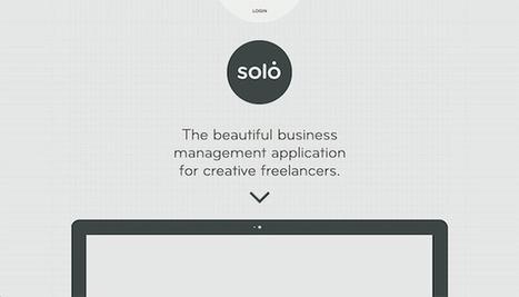 30 Minimal Business & Corporate Web Designs | Minimalistic design showcase | Scoop.it