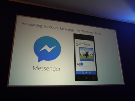 Official Facebook Messenger App Coming Soon to WP8   L'actualité du monde des tablettes   Scoop.it