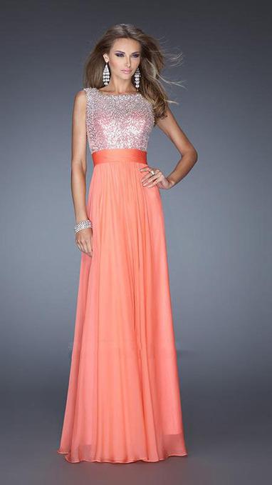 La Femme Style 19815 Two Shoulder Long Coral Prom Dresses Cheap [La Femme Style 19815] - $183.00 : La Femme Outlet, 60% Off La Femme Sale Online | gownprincess | Scoop.it
