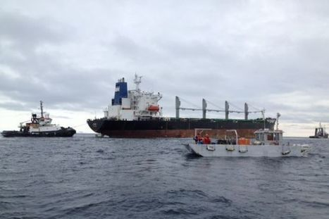 MV John I being towed to Argentia - Western Star   Oil Spill   Scoop.it