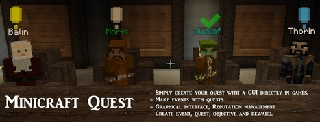Minicraft Quest Mod 1.7.2/1.6.2 | Minecraftedu | Scoop.it