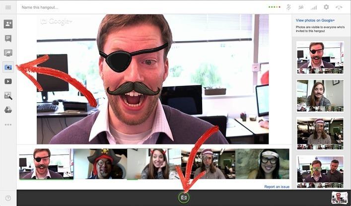 Candid camera: Google+ adds Capture app to Hangouts | Big Brand Boost