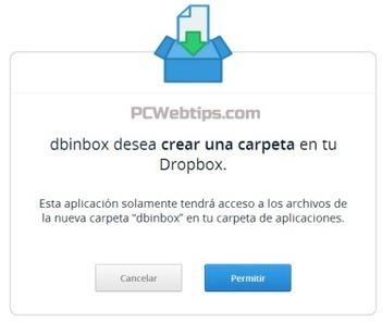 Permite Que Cualquier persona suba Archivos a Mi Dropbox  con dbinbox | Tecnologías educativas | Scoop.it