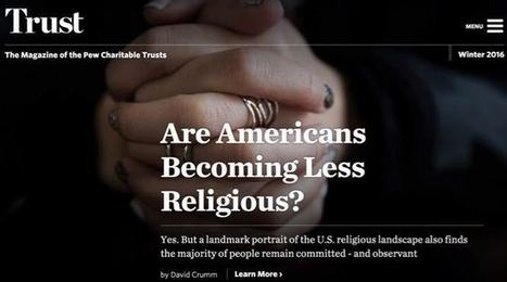 New Pew report: Why the faith of millions is deepening now - Explore   Religion and Culture   Scoop.it