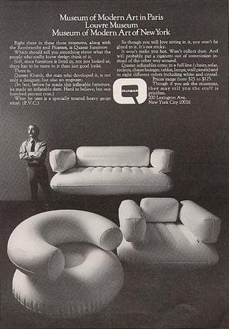 Blow Up - Quasar Khanh's Inflatable Furniture - Voices of East Anglia   Quasar Khanh universe : www.quasar-khanh.com   Scoop.it