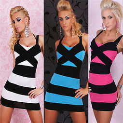 Sexy Women Sleeveless Bandage Prom Clubwear Bodycon Cocktail Party Evening Dress | contemporary fashion design | Scoop.it