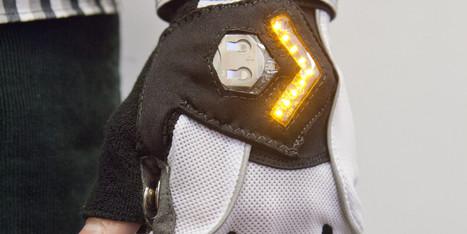 Des gants de vélo clignotants pour éviter les accidents   RoBot cyclotourisme   Scoop.it