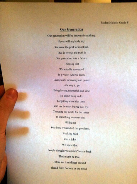 This 14 Year Old Wrote A Simple Poem That Has Left The World Stunned. | Sonnets | Scoop.it