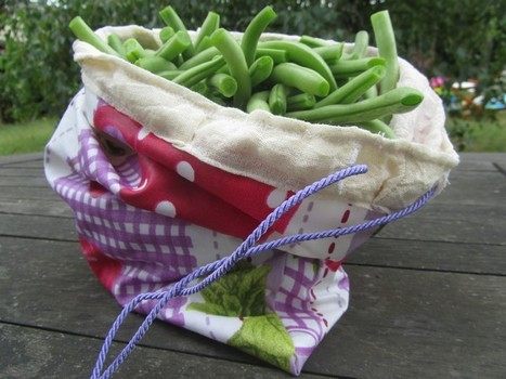 Sac à légumes - premier essai | Alimentation Ressourçante | Scoop.it