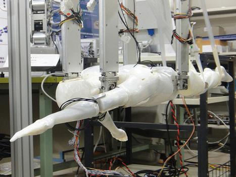 Un humanoïde pour aider les nageurs à battre des records | Bots and Drones | Scoop.it