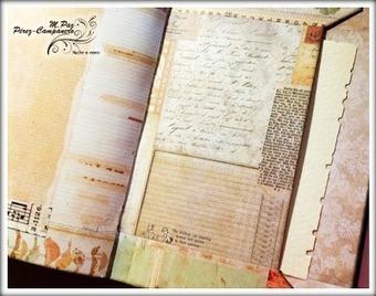 Art Journal: página con bolsillo   Tutoriales, herramientas y técnicas   Scoop.it