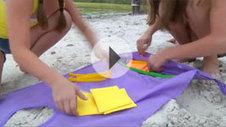 SandToss Beach Game | New Sand Dust and Art Games | SandBiz Games | Sand art games | Beach games | Sandbiz.com | Scoop.it