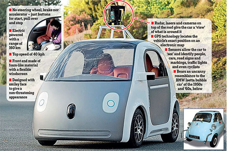 Google's Unique Solution to Self-driving Cars | World of Tomorrow | Scoop.it
