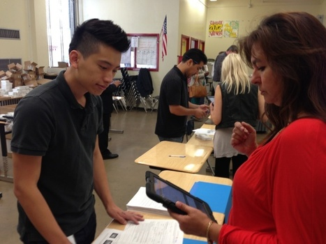 LA Unified begins training teachers on iPads | Pinsforprincipals | Scoop.it