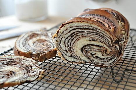 Brioche marbrée au chocolat | Boulangerie | Scoop.it