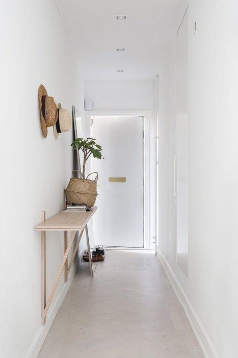 Un petit appartement tout blanc | décoration & déco | Scoop.it