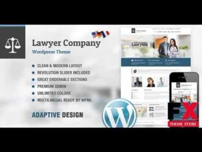 Preview Lawyer Multi-Purpose Adaptive WordPress Theme Corpor | General SEO | Scoop.it