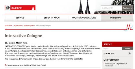 Interactive Cologne   Web de Cologne   Scoop.it