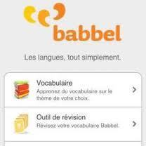 Babbel - Vocabulaire A1 | Remue-méninges FLE | Scoop.it