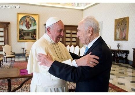 Zármutok pápeža nad smrťou bývalého izraelského prezidenta Peresa | Správy Výveska | Scoop.it