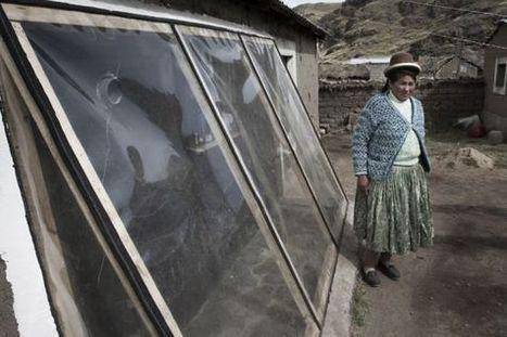 Casas calientes contra el frío andino | Geografia de España | Scoop.it