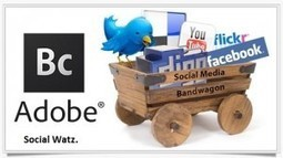 Adobe Social Adds Instagram, LinkedIn + Foursquare Integrations   Social Watz   Social Media   Scoop.it