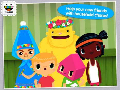 Toca House – A Good app to teach life skills | Communication and Autism | Scoop.it