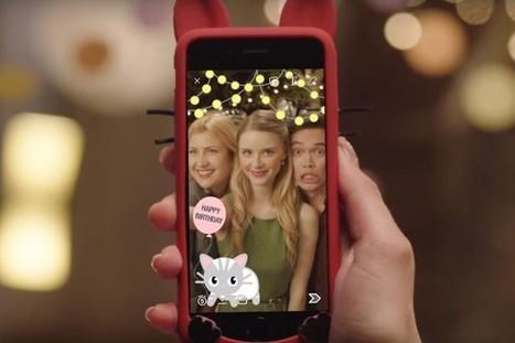 Comment Snapchat nous rapproche avec ses filtres géolocalisés   eReputation-Reseauxsociaux   Scoop.it