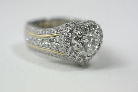 Wear Your Heart On Your Finger !   Diamonds Jewelry - House of Diamonds   Scoop.it