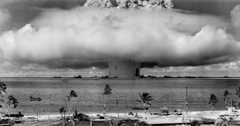Bikini Atoll mushroom cloud - An atomic anniversary for the Bikini Atoll (pictures) | Atomic Then & Now | Scoop.it
