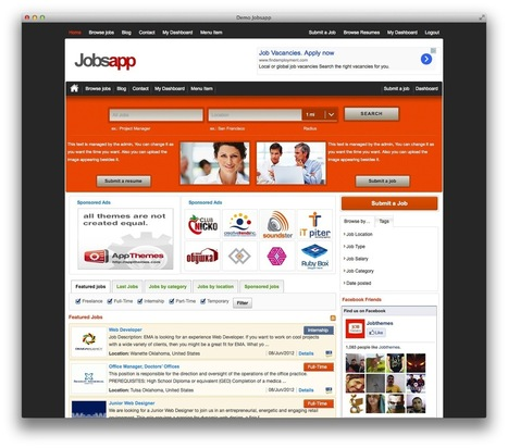 10+ Best WordPress Job Themes - Indexwp | WordPress News | Scoop.it