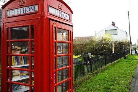 Οι λονδρέζικοι τηλεφωνικοί θάλαμοι γέμισαν βιβλία! | Book's Leader | Scoop.it