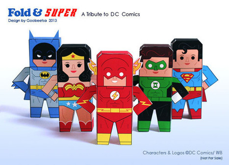 Fold & Super Paper Toys ~ Paperkraft.net - Free Papercraft, Paper Model, & Papertoy | artes | Scoop.it