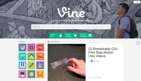 Vine repense son site Web pour se positionner comme un vrai ... - Geeks and Com' | Community Management | Scoop.it