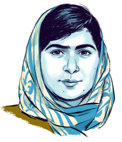 Malala Yousafzai: by the book   English Studies & more   Scoop.it