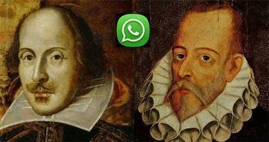 Si Shakespeare y Cervantes hubieran tenido Whatsapp | Letras Libres | TIC TAC TEP | Scoop.it
