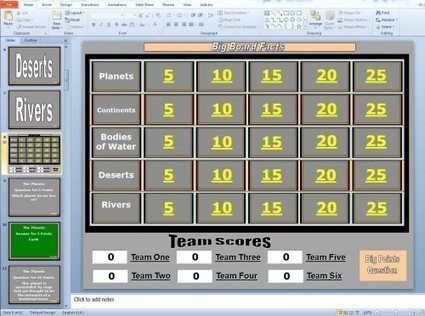 PowerPoint Games and Other Game Templates | I'm Bringing Techy Back | Scoop.it