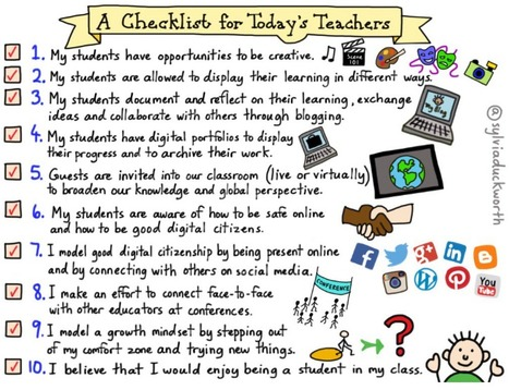 A Checklist For Today's Teachers | #ModernEDU | Education | Scoop.it