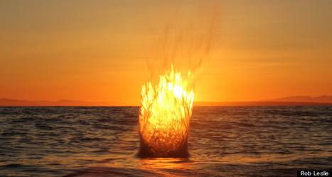 Boule de feu ou coucher de soleil?   Jaclen 's photographie   Scoop.it
