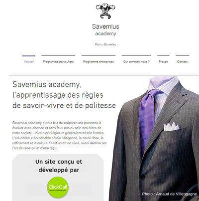 Savemius confie son nouveau site internet et sa stratégie digitale à Click Call | Découvrir Click Call | Scoop.it