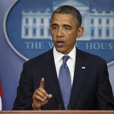 "Obama: ""modestly optimistic"" fiscal cliff deal can be reached 
