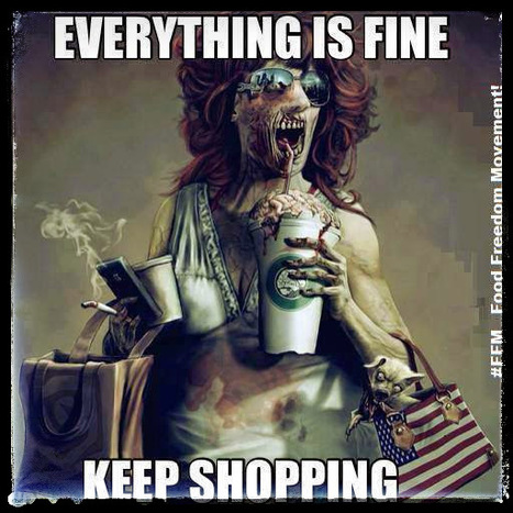 Everything is fine – keep shopping | Political | Scoop.it