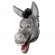 Latex Animal Masks : Animal Overhead Mask - Comical Donkey ( Latex ) | Quality Party Wigs - Masquerade-Carnival.co.uk | Scoop.it