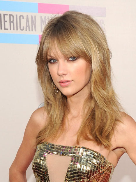 Taylor Swift: Gorgeous Wavy Hair At The 2013 AMAs - Hollywood Life | Beauty | Scoop.it
