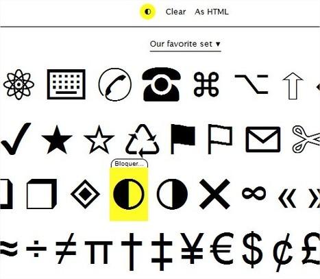 CopyPasteCharacter : tous les caractères spéciaux en un seul clic | Mind Mapping | Scoop.it